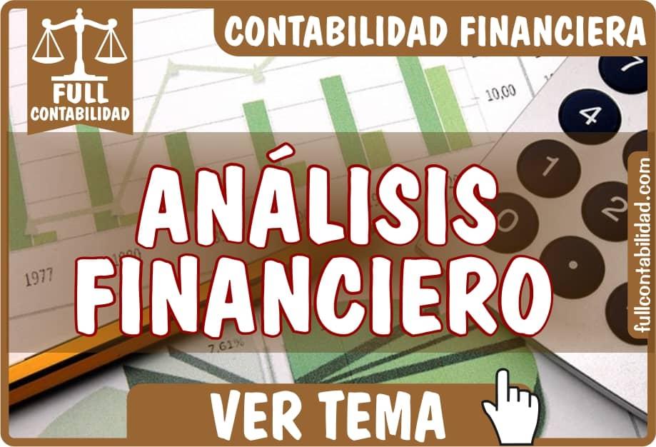 Análisis Financiero - Contabilidad Financiera - fullcontabilidad