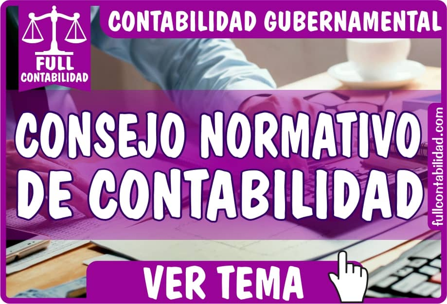 Consejo Normativo de Contabilidad - Contabilidad Gubernamental - fullcontabilidad