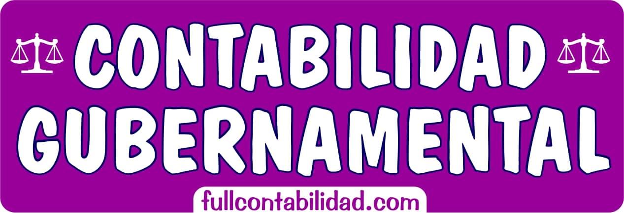 Contabilidad Gubernamental - Full Contabilidad
